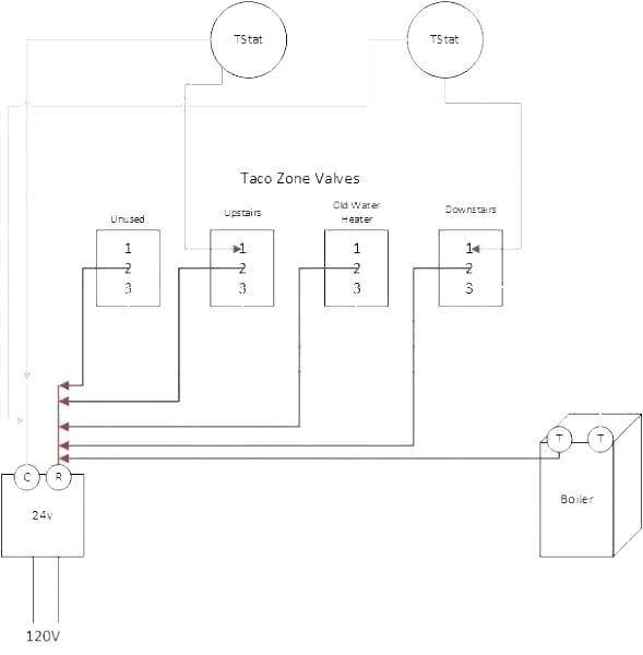 taco zone valve wiring diagram 555 24 volt 1957 ford truck