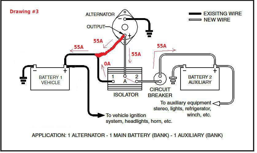 KG_8028] Wiring Diagram For A Battery Isolator Schematic Wiring | Battery Isolator Wiring Diagram Sp |  | Subc Emba Kweca Hendil Mohammedshrine Librar Wiring 101