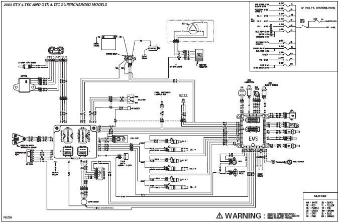 1999 Seadoo Gsx Wiring Diagram