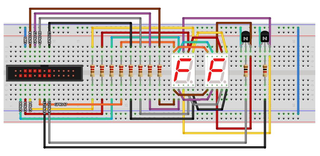 Amazing Raspberry Pi With 7 Segment Display Hack Your Mind Wiring Cloud Timewinrebemohammedshrineorg