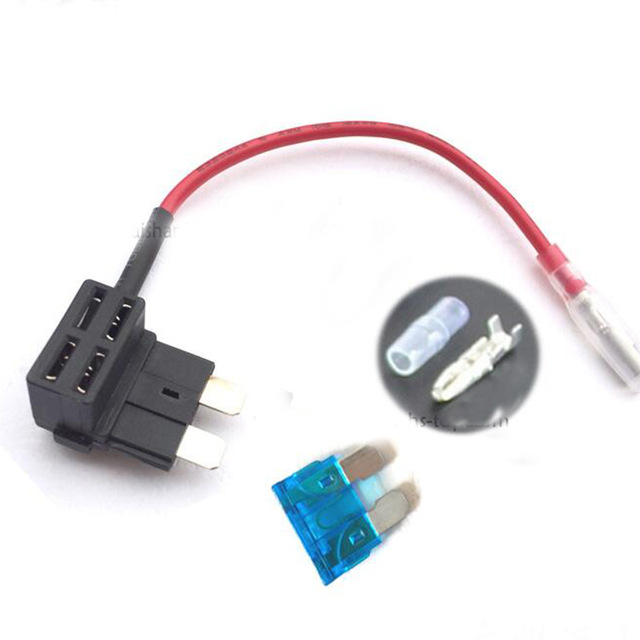 Outstanding Add A Circuit Fuse Tap Piggy Back Standard Blade Fuse Holder Ato Atc Wiring Cloud Rometaidewilluminateatxorg