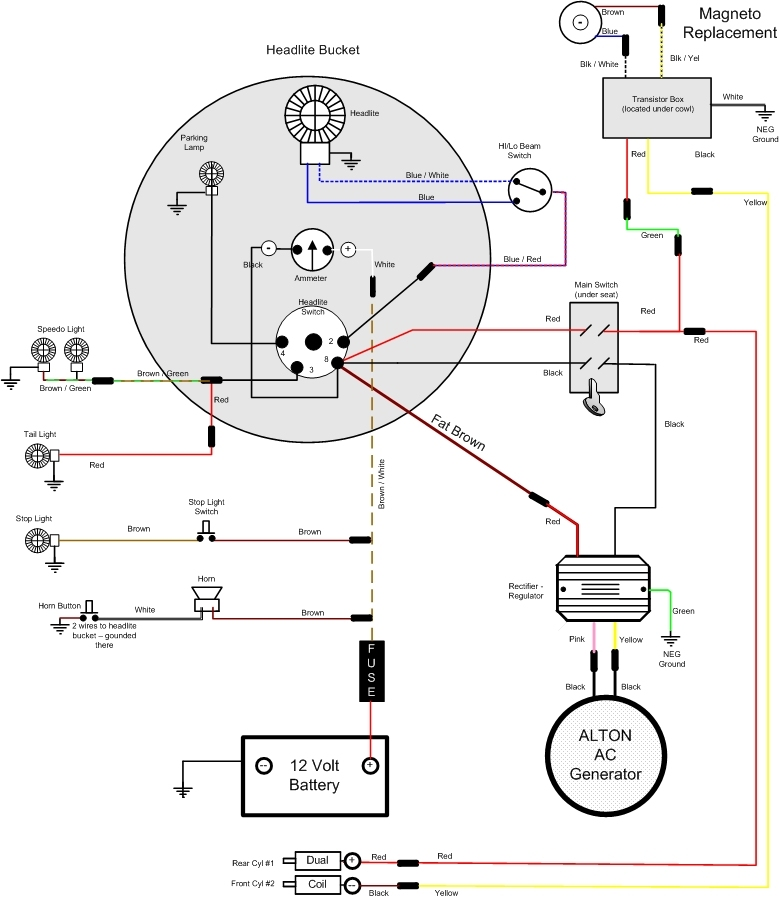 Outstanding Bike Alternator Generator Wiring Diagram Basic Electronics Wiring Wiring Cloud Uslyletkolfr09Org