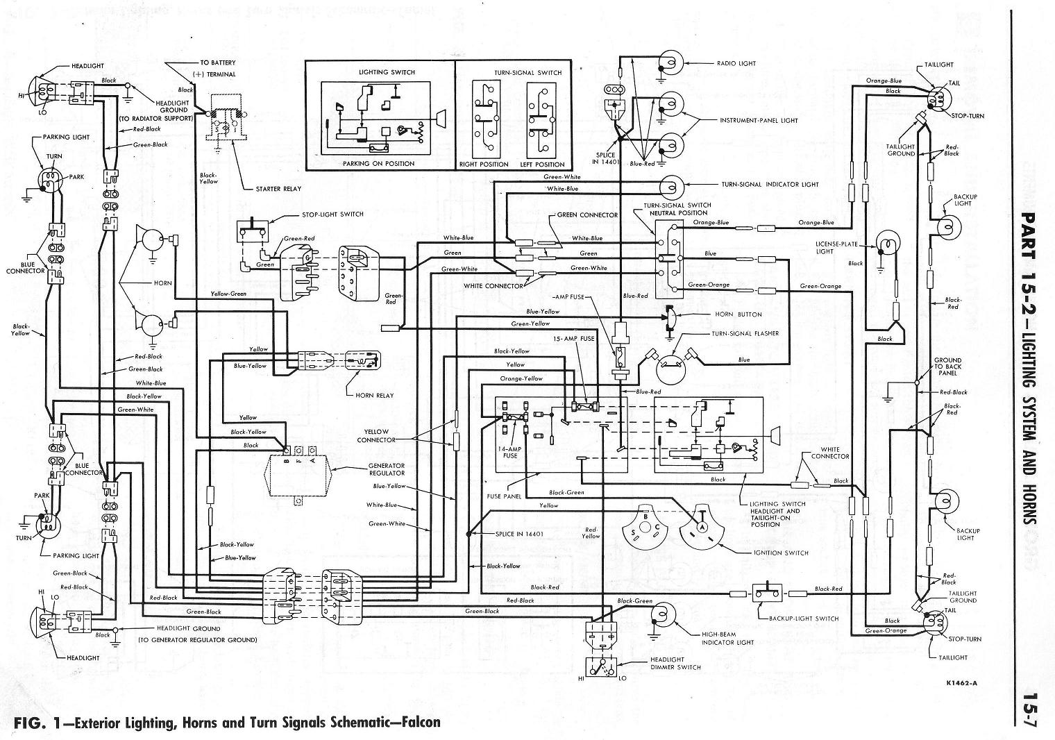 Strange 1964 Falcon Wiring Diagram Wiring Diagram Database Wiring Cloud Intelaidewilluminateatxorg