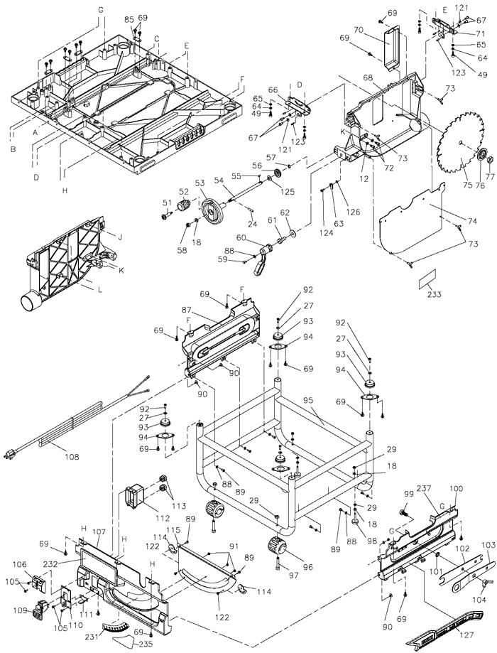Strange Reciprocating Saw Diagram And Parts List For Dewalt Sawparts Model Wiring Cloud Filiciilluminateatxorg