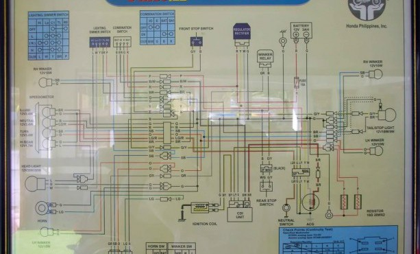 Honda 155 Wiring Diagram - Wiring Diagrams Databasediamondcarservice.it