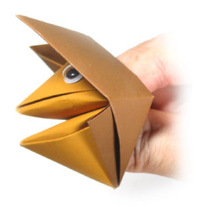 How to make an origami fox face step by step. - YouTube | 300x300