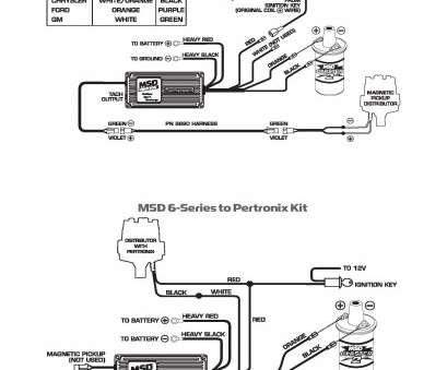 msd 6al wiring diagram mallory distributor p 9000  cub