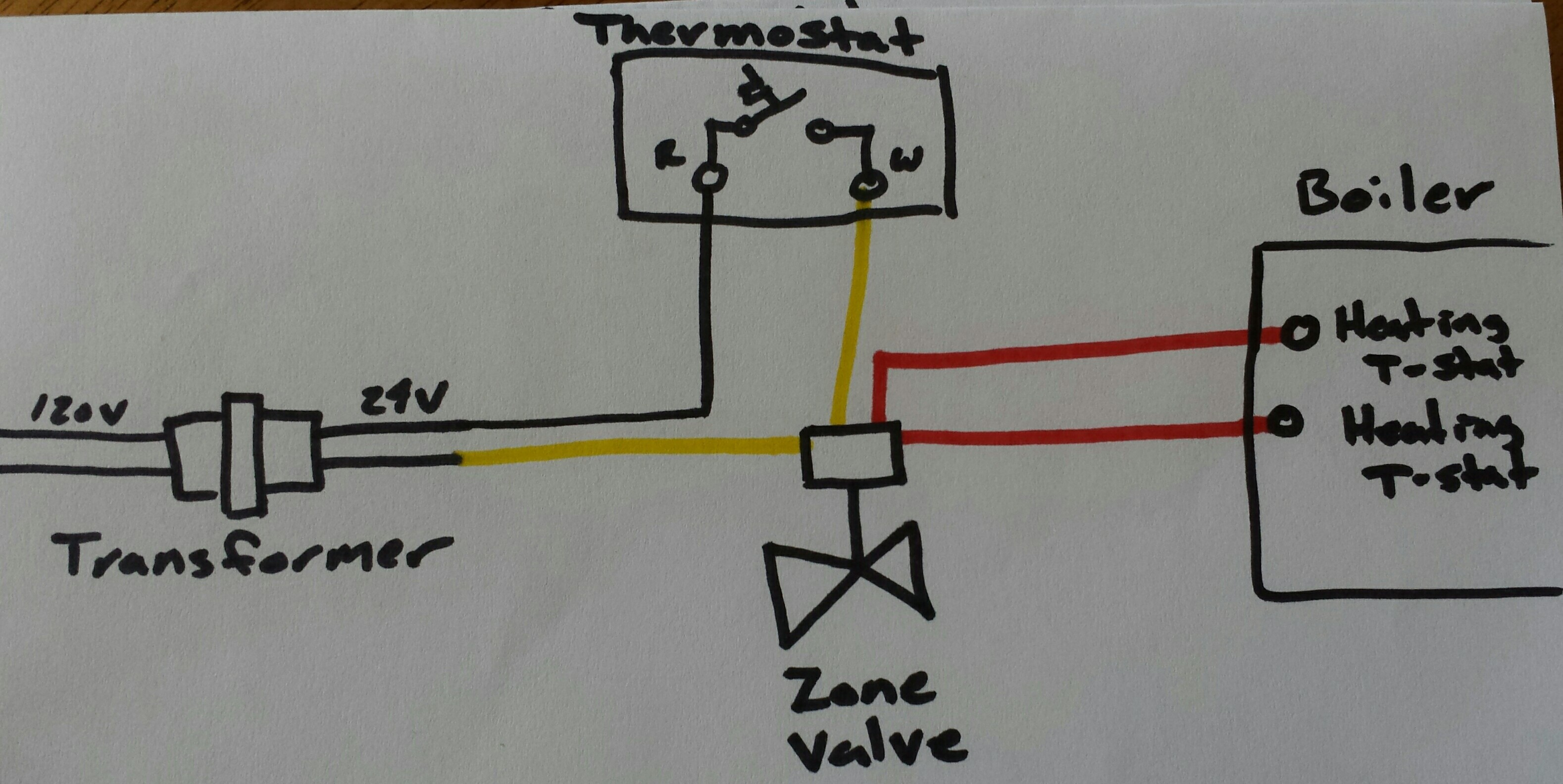 Hk 9124 Zone Valve Wiring Diagram On Honeywell Motorized Valve Wiring Diagram Free Diagram