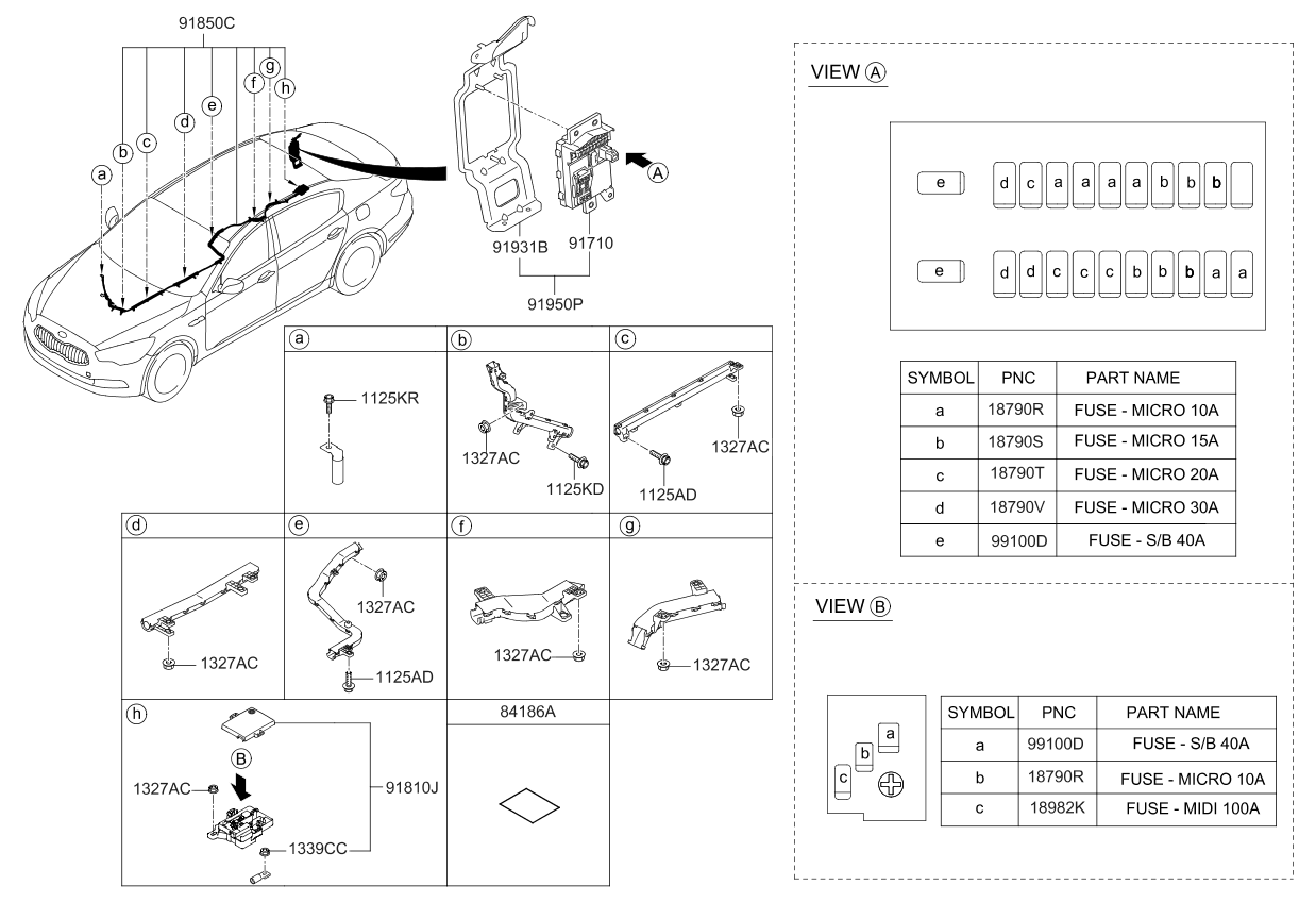 2003 Kia Spectra Fuse Box Diagram