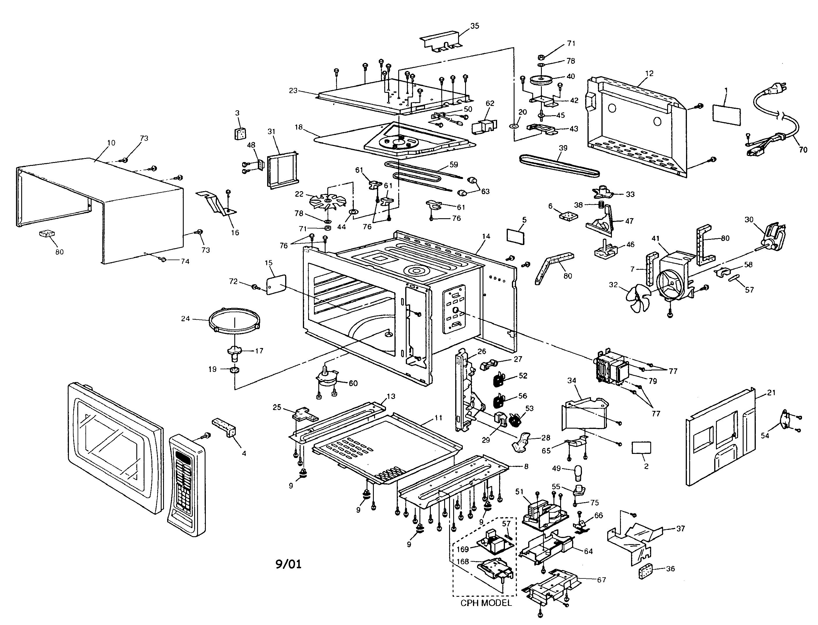 Panasonic Microwave Parts Manual  U2013 Bestmicrowave