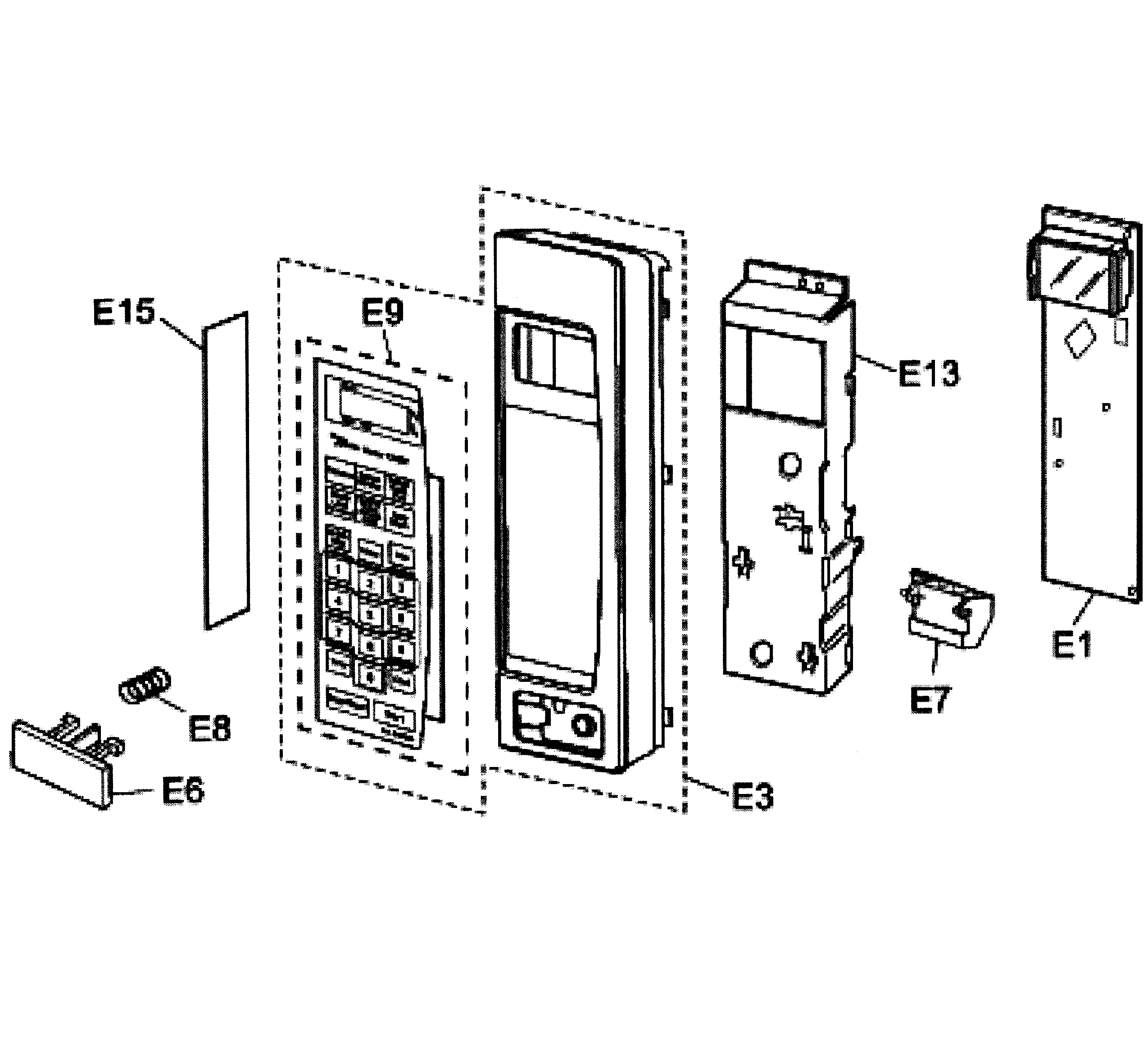 ha 8831 oven cabinet diagram and parts
