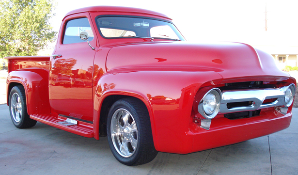 Stupendous 1955 Ford F100 Custom Truck Cars On Line Com Classic Cars For Sale Wiring Cloud Hemtshollocom