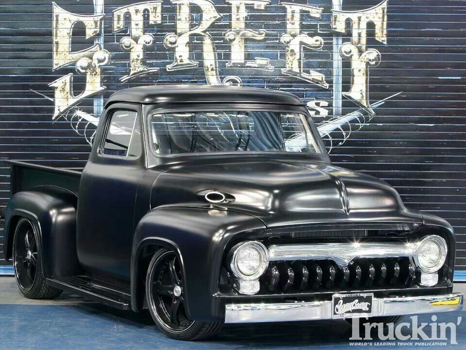 Excellent 1955 Ford F100 Expendables Custom Wheels Ford Trucks Classic Wiring Cloud Hemtshollocom