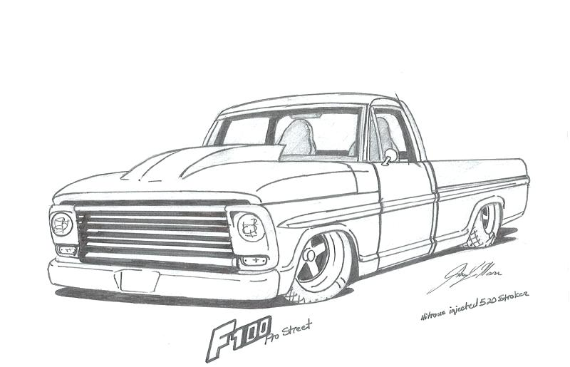 Pickup trucks coloring pages | Free Printable Pictures | 515x800