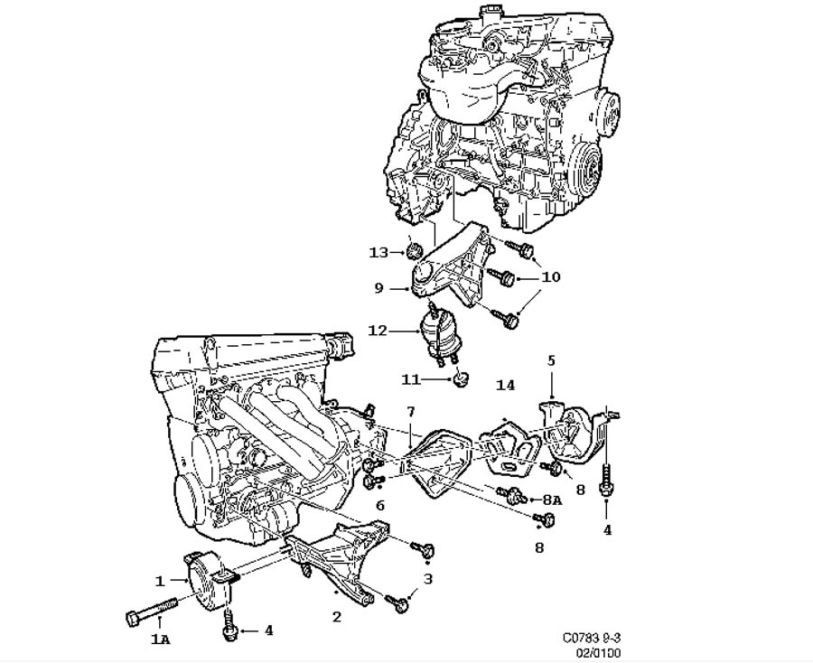 ZC_0302] Saab 9 3 Manual Transmission Diagram Download Diagram