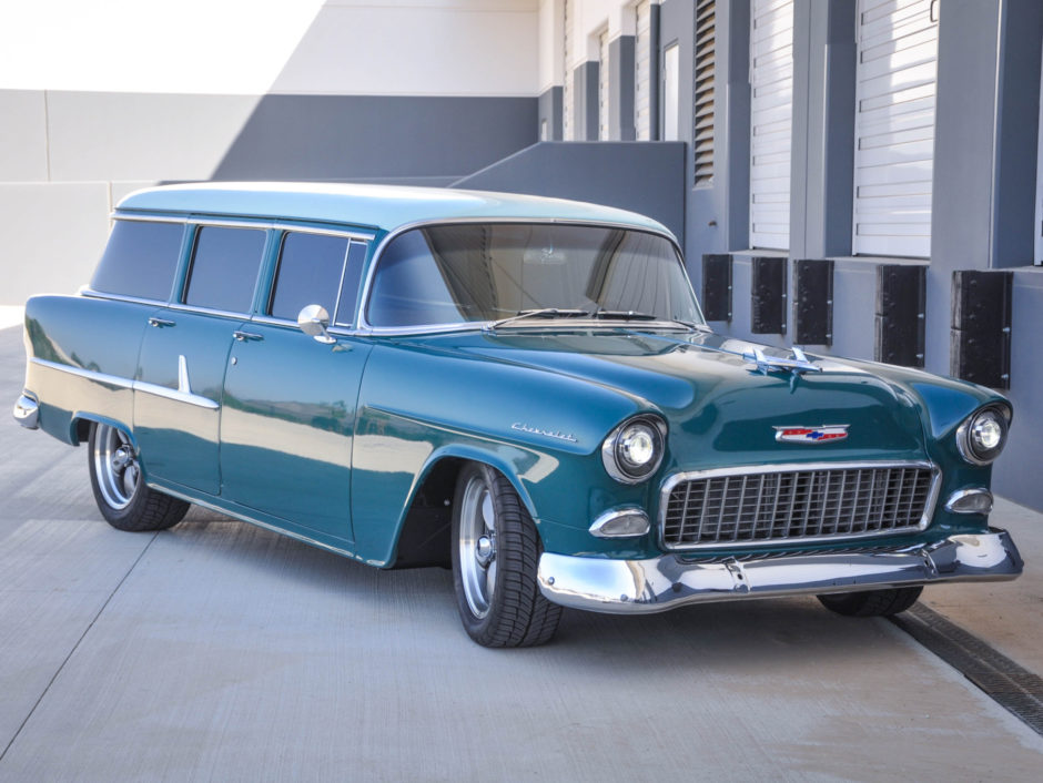 Admirable Custom Supercharged 1955 Chevrolet 210 Wagon For Sale On Bat Wiring Cloud Waroletkolfr09Org