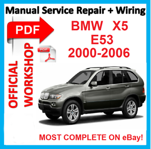 Astonishing Official Workshop Manual Service Repair For Bmw X5 E53 2000 2006 Wiring Cloud Genionhyedimohammedshrineorg
