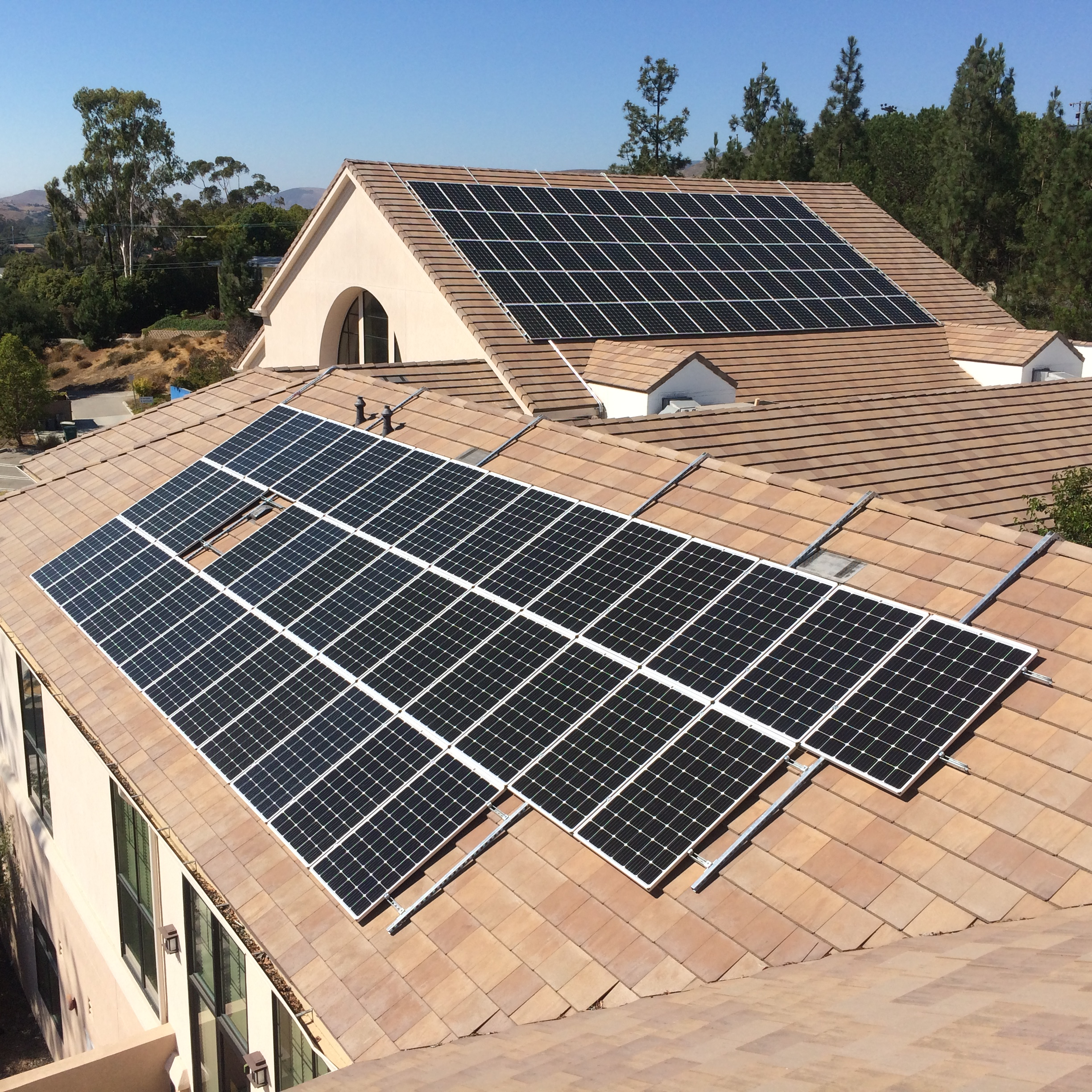 Excellent Is It Possible To Install Solar On A Sloped Roof Without Drilling Holes Wiring Cloud Grayisramohammedshrineorg
