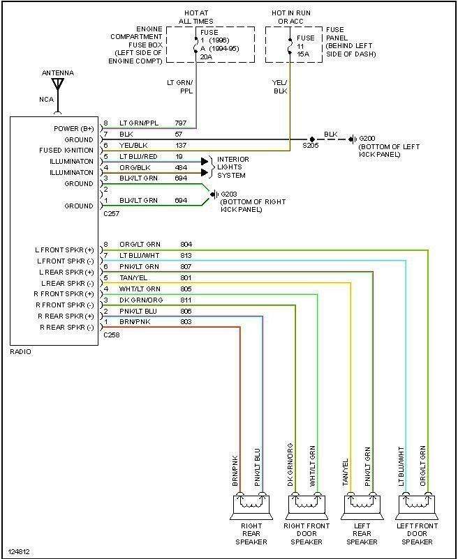 Rd 3900 Radio Wiring Color Codes Toyota Free Diagram