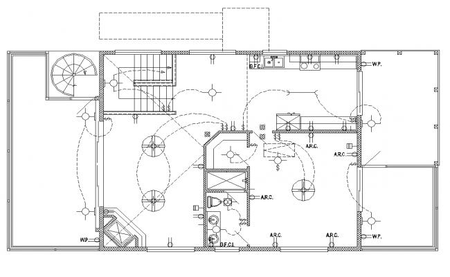 ms_2475] electrical plan in building  joni botse eumqu vira mohammedshrine librar wiring 101