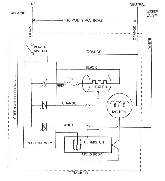 CA_2153] Ice Maker Circuit Diagram Schematic WiringInrebe Trons Mohammedshrine Librar Wiring 101