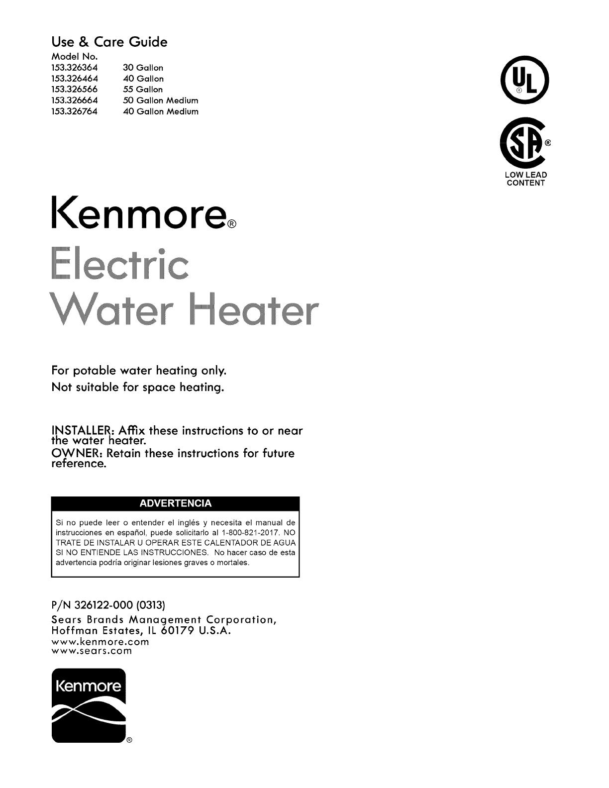 Ge 40 Gallon Water Heater Wiring Diagram - Database ...