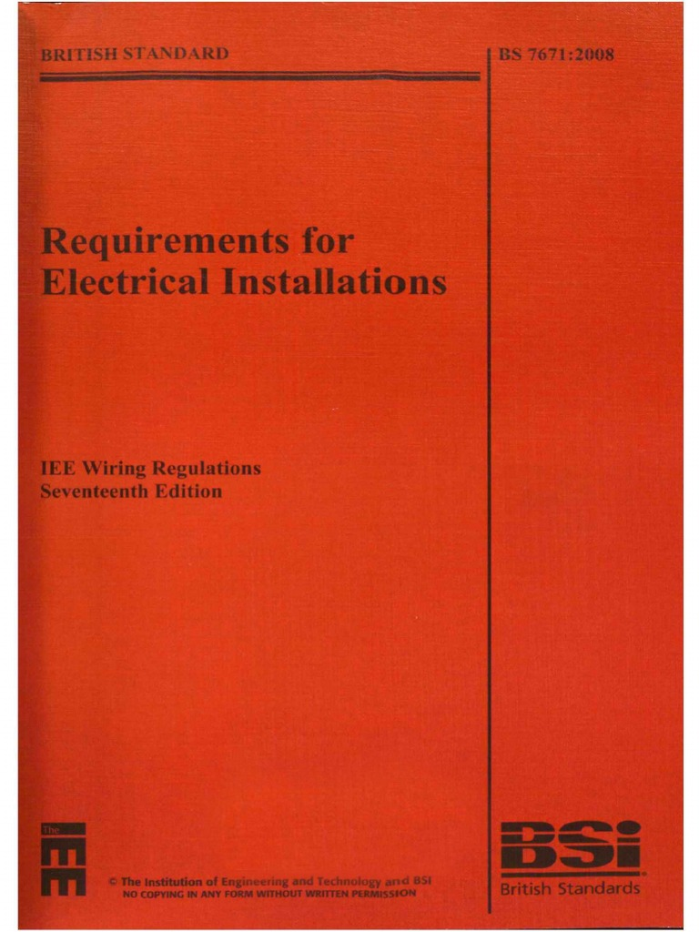 Amazing Bs 7671 2008 Requirements For Electrical Installations Iee Wiring Wiring Cloud Filiciilluminateatxorg