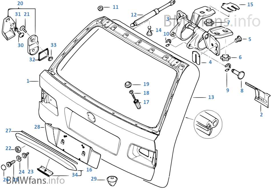 LO_6595] E39 Parts Diagram Also With Bmw E39 Trunk Part Diagram Free DiagramPlan Dness Adit Opein Mohammedshrine Librar Wiring 101