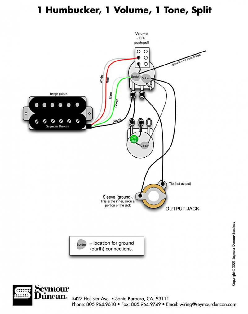 Hss Wiring Diagram Seymour Duncan