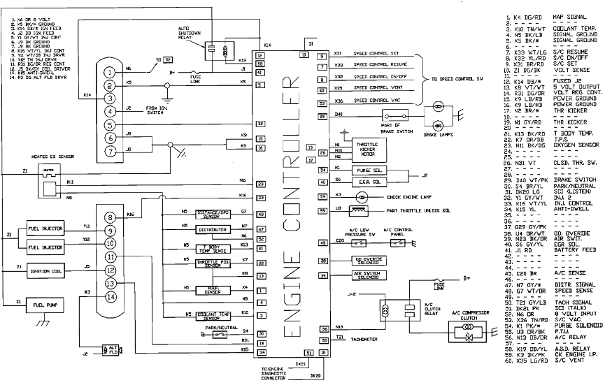 Stupendous 1989 Dodge Wiring Coil Wiring Diagram Database Wiring Cloud Grayisramohammedshrineorg