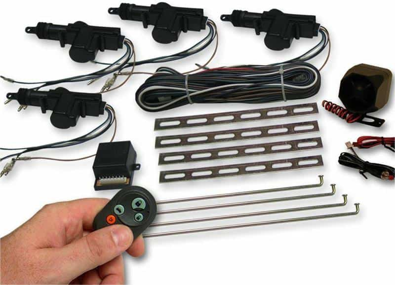 Incredible 4 Door Power Lock Kit With Alarm X2 Industries Wiring Cloud Overrenstrafr09Org