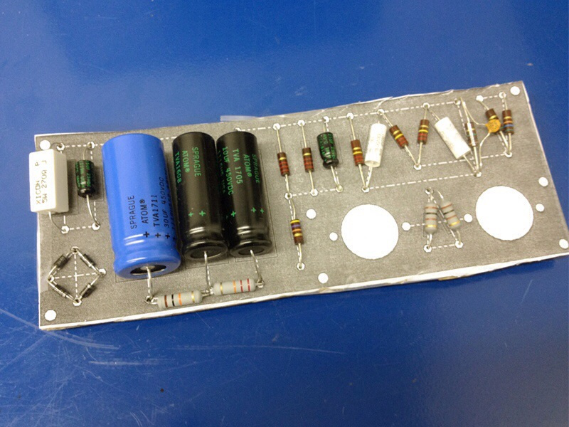 Incredible Gibson Ga 5 Amp Build Part 2 The Chassis And Circuit Board Simone Wiring Cloud Rdonaheevemohammedshrineorg