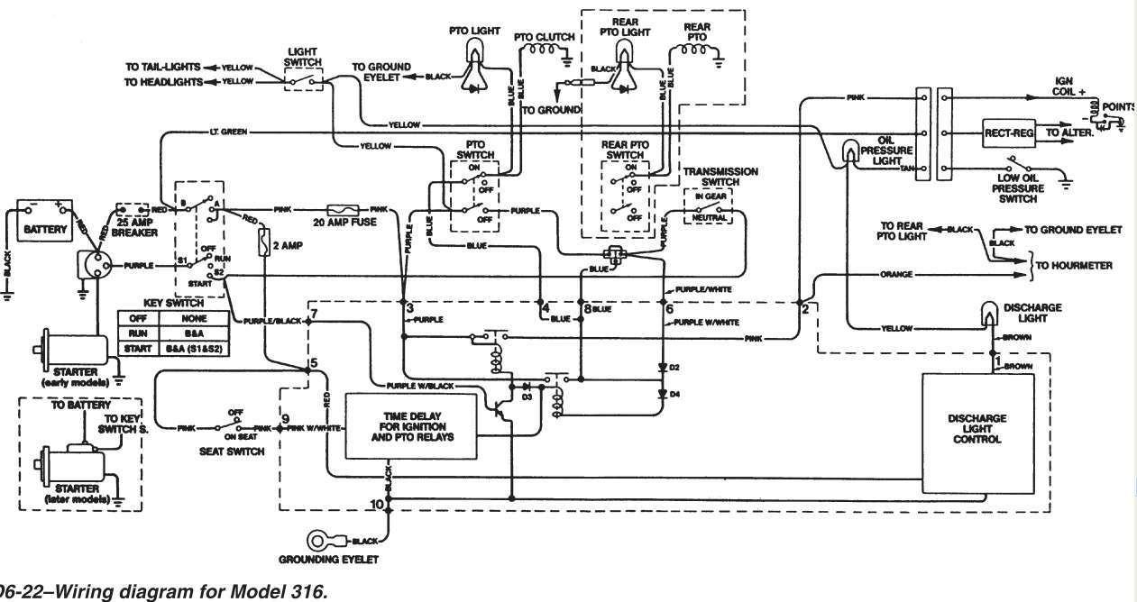 John Deere 4020 12v Wiring Diagram