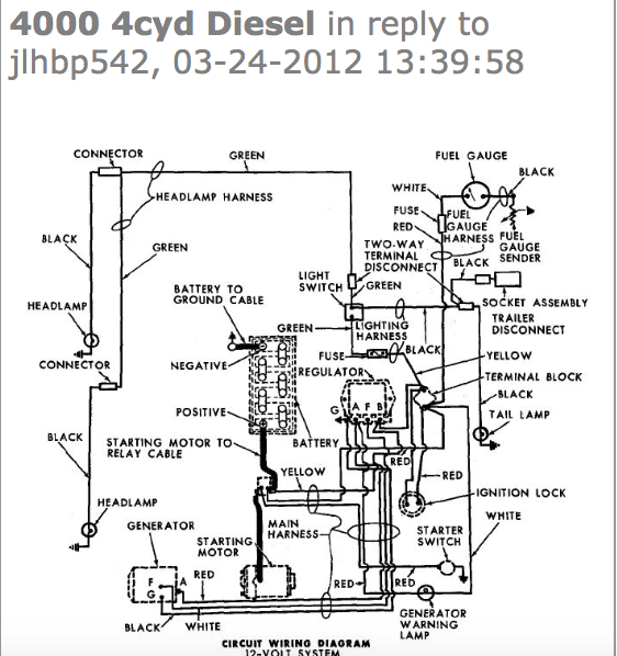 4000 Ford Tractor Wiring Diagram Pics