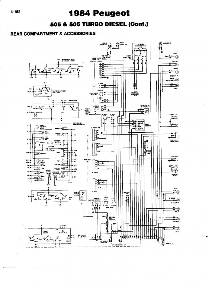 [ZSVE_7041]  Peugeot 505 Fuse Box - 1999 Yamaha R1 Ignition Wire Diagram for Wiring  Diagram Schematics | Wiring Diagram Peugeot 505 Gti |  | Wiring Diagram Schematics