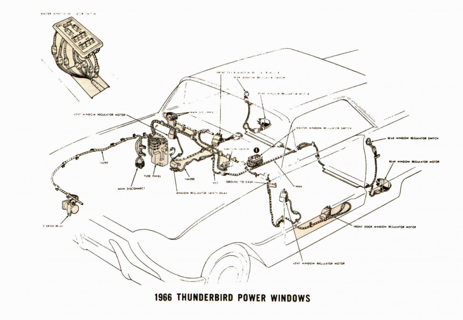 Amazing Ford Thunderbird Shop Manuals Wiring Cloud Icalpermsplehendilmohammedshrineorg