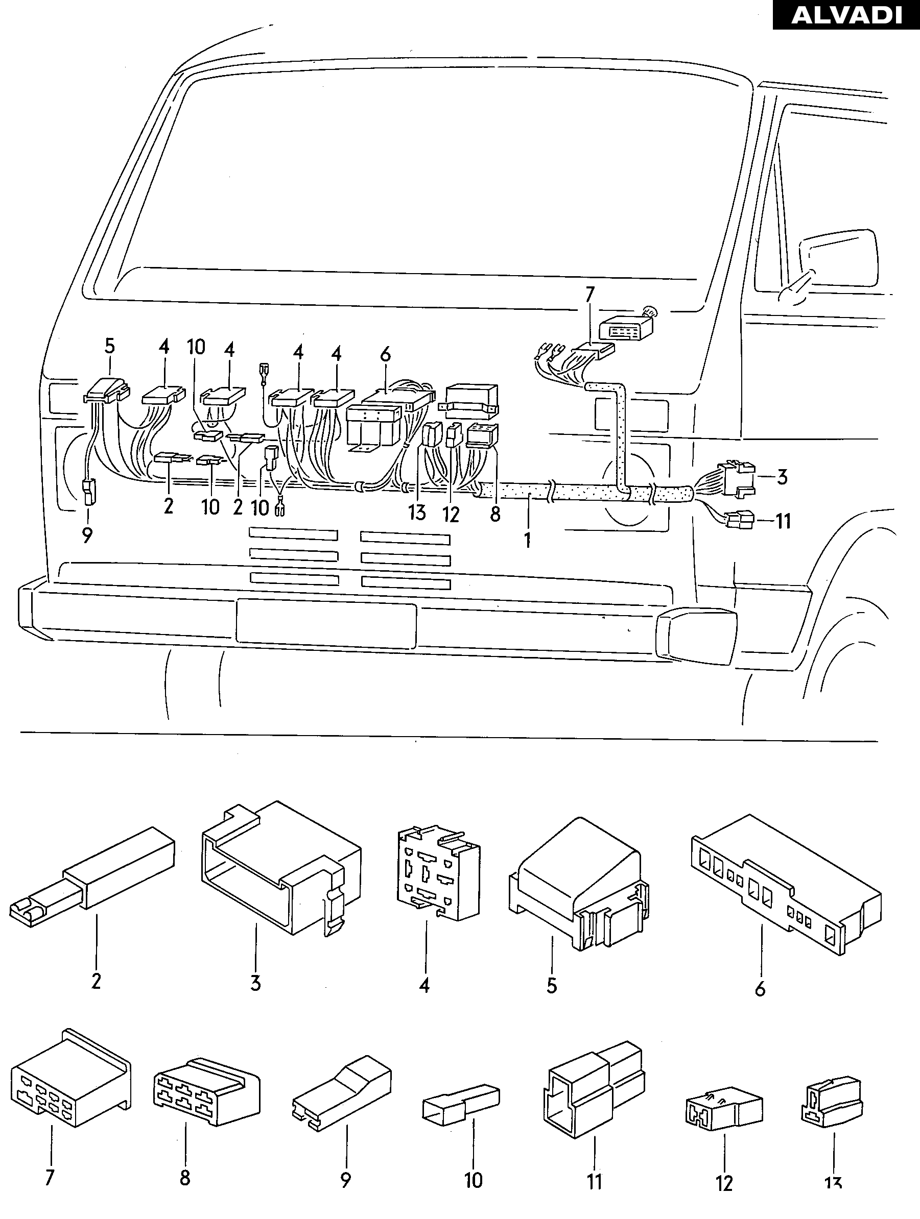 em 8964  relay switch for vw passat schematic wiring