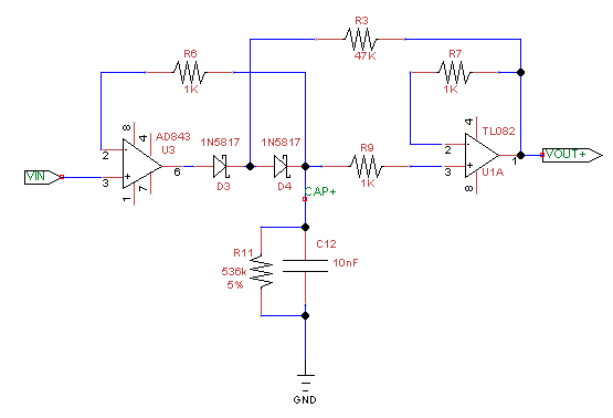 Fabulous Operational Amplifier Why Is My Negative Peak Detector Behaving Wiring Cloud Dulfrecoveryedborg