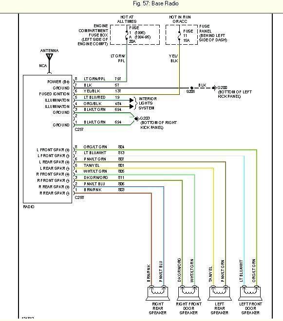radio wiring diagram for 1998 ford explorer - Wiring Diagram