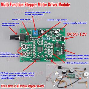 Astounding 2 Phase 4 Phase 5 Wire Stepper Motor Dc 5V 12V Driver Board Speed Wiring Cloud Eachirenstrafr09Org