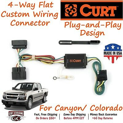Fabulous Trailer Hitch T Connector Wiring Fits Colorado Canyon Curt 55510 Wiring Cloud Hemtegremohammedshrineorg