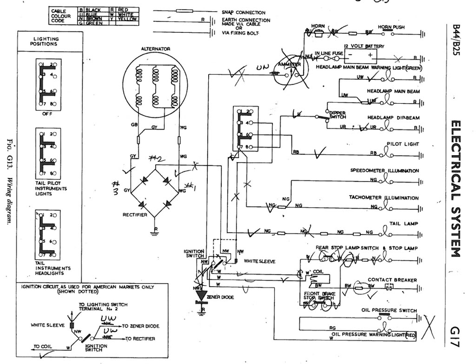 Da 9326 1971 Spitfire Wiring Diagram Gt6 Triumph Wiring Diagram