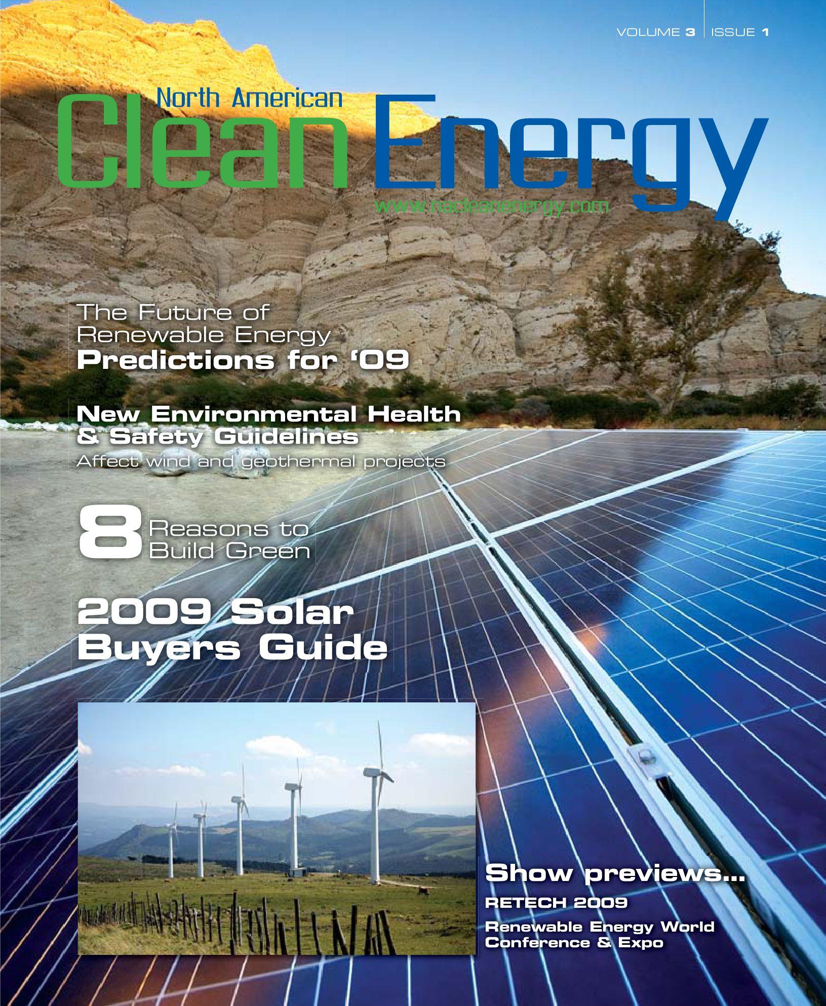 Fabulous North American Clean Energy Jan Feb Edition By North American Wiring Cloud Domeilariaidewilluminateatxorg