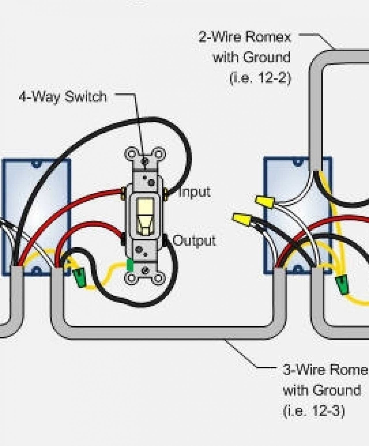 Two Way Wiring Diagram For Light Switch