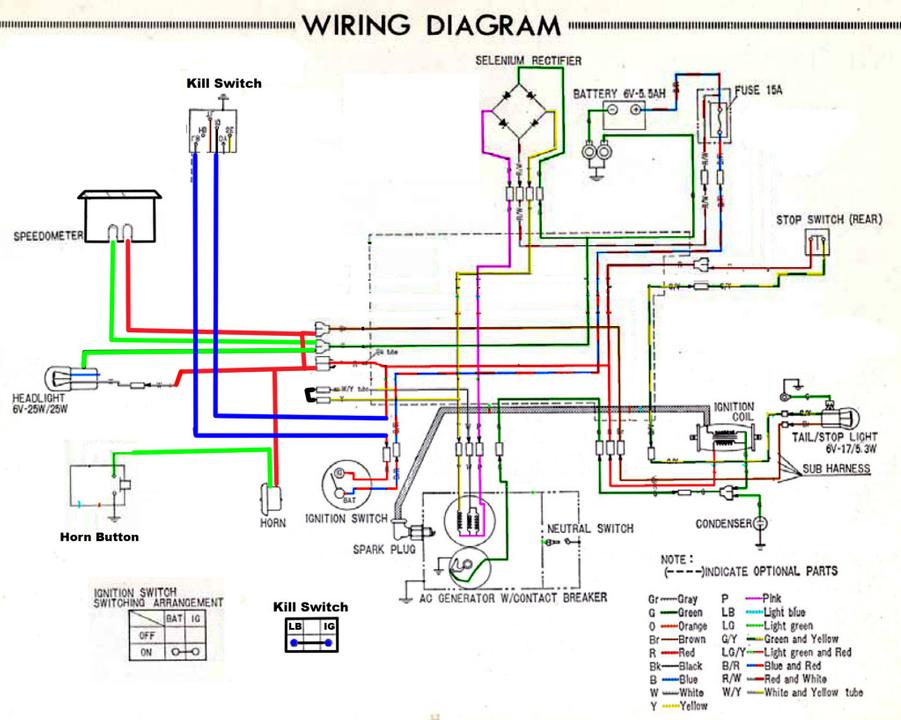 CT70 CT 70 Wiring Harness KO HKO OEM Replacement New
