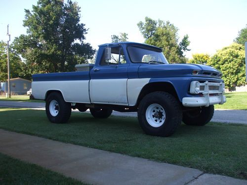 Magnificent Buy Used Factory 1966 Chevy 3 4 Ton 4X4 Truck In Walton Kansas Wiring Cloud Licukshollocom