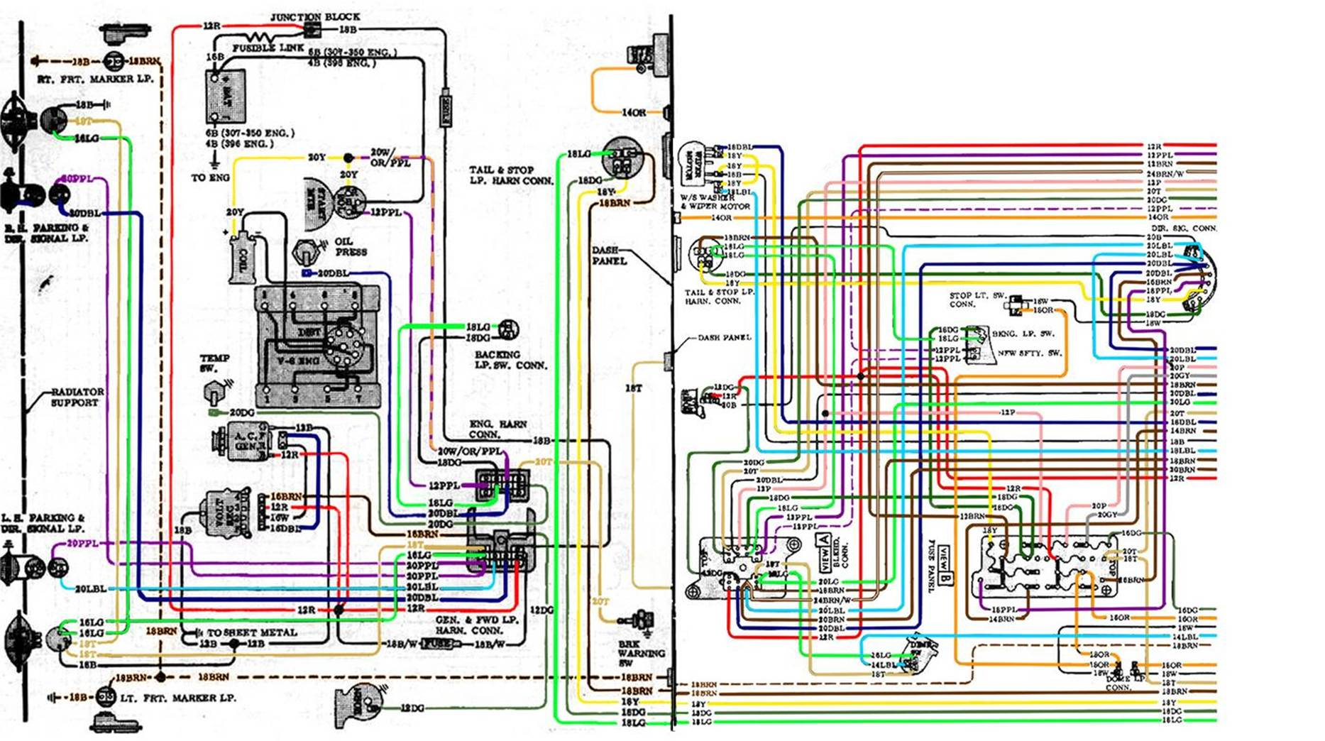 Fine Chevy Nova Wiring Harness Basic Electronics Wiring Diagram Wiring Cloud Dulfrecoveryedborg