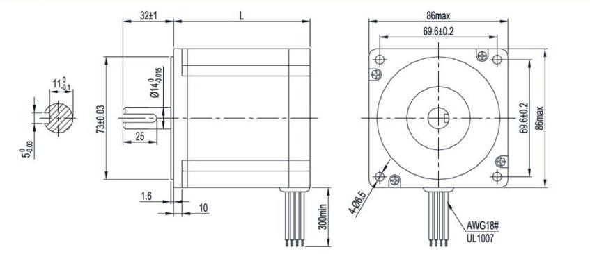Hd 6592 Nema 34 Stepper Motor Also Nema 17 Stepper Motor Dimensions Besides Download Diagram