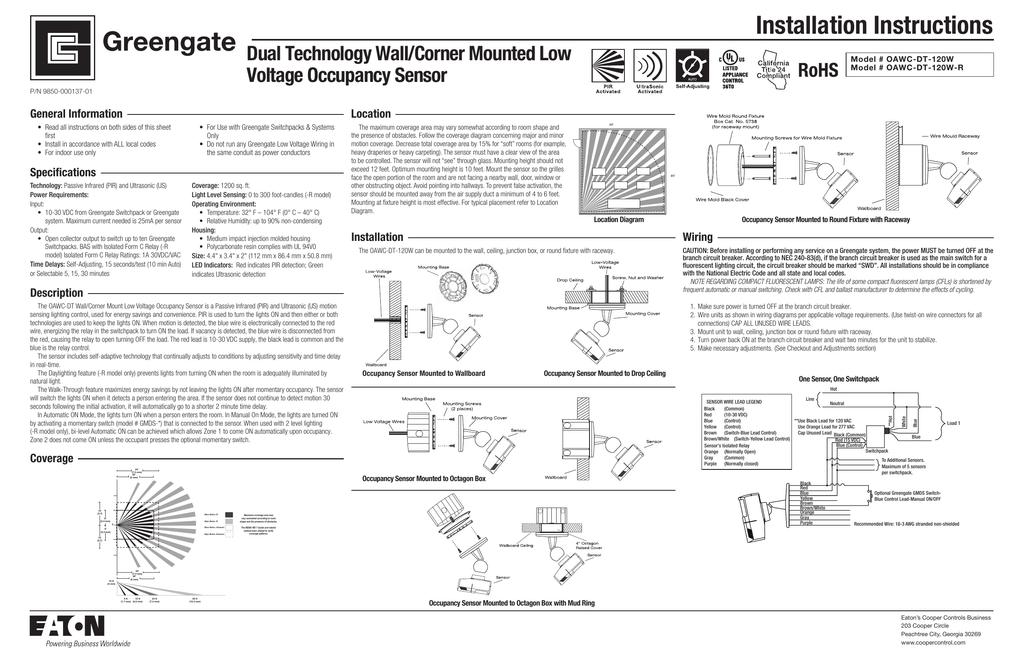 Kz 9906  Pir Sensor Wiring Instructions Schematic Wiring