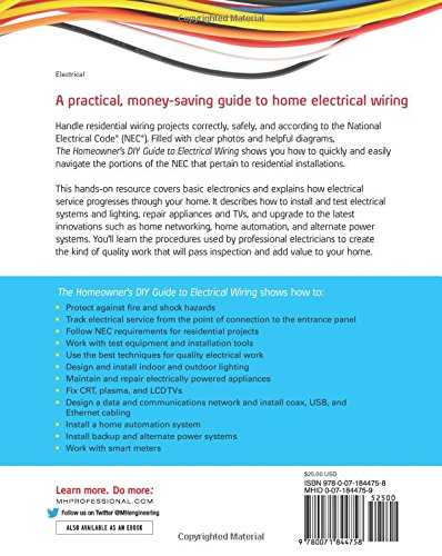 Superb The Homeowners Diy Guide To Electrical Wiring David Herres Wiring Cloud Xempagosophoxytasticioscodnessplanboapumohammedshrineorg